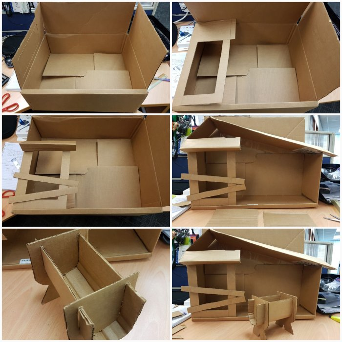Making a crib